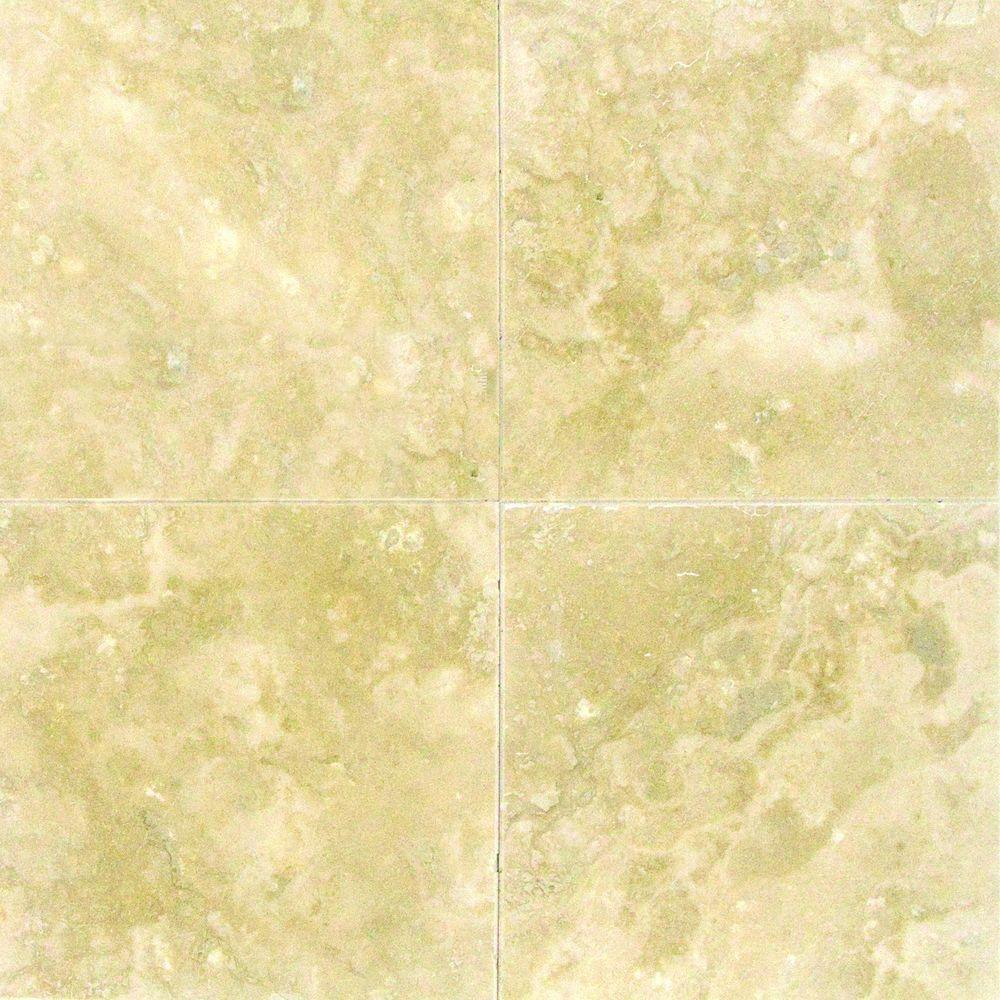 Msi ivory 6 in x 6 in honed travertine floor and wall tile 1 sq msi ivory 6 in x 6 in honed travertine floor and wall tile 1 sq ft case thdw1 t ivo 6x6 the home depot dailygadgetfo Image collections