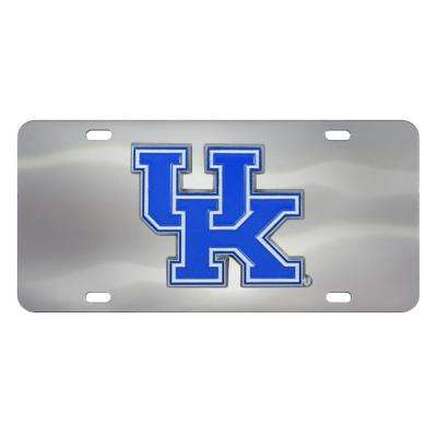 6 in. x 12 in. NCAA University of Florida Stainless Steel Die Cast License Plate