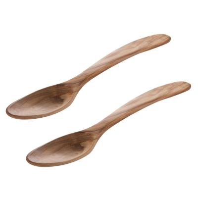 Olive Wood Serving / Salad Spoons (Set of 2)