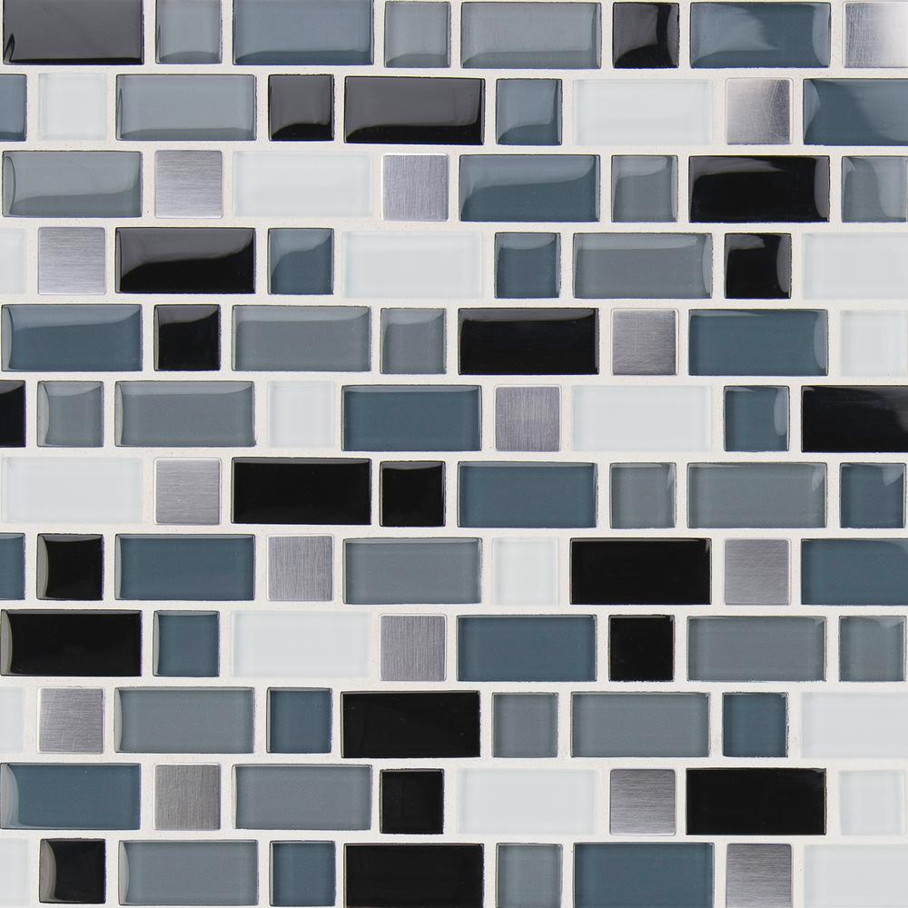 MSI Crystal Cove 12 in. x 12 in. Glass Blend Mesh-Mounted Mosaic Tile