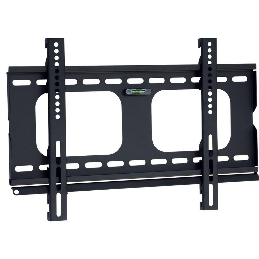 Homevision Technology TygerClaw Fixed Wall Mount for 23 in. - 37 in. Flat Panel TV, Black Give your TV the perfect spot in the wall with this Fixed Wall Mount. This mount is constructed with cold steel material to maximize the durability and support. This mount is the best solution for mounting TV on the wall without any hesitation. Color: Black.
