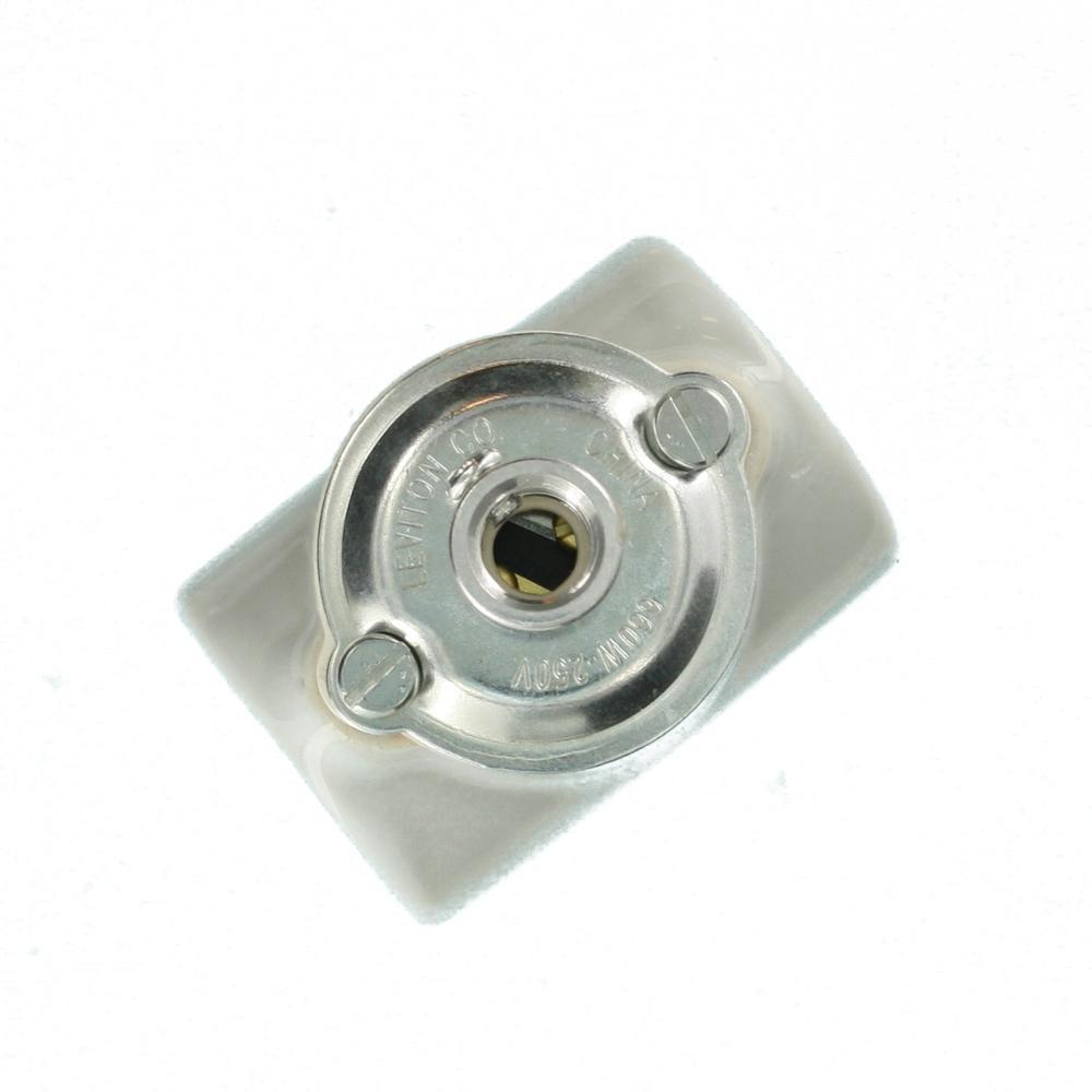 Sun-Lite 660W Medium Base Circuit Keyless Glazed Porcelain Dual Socket