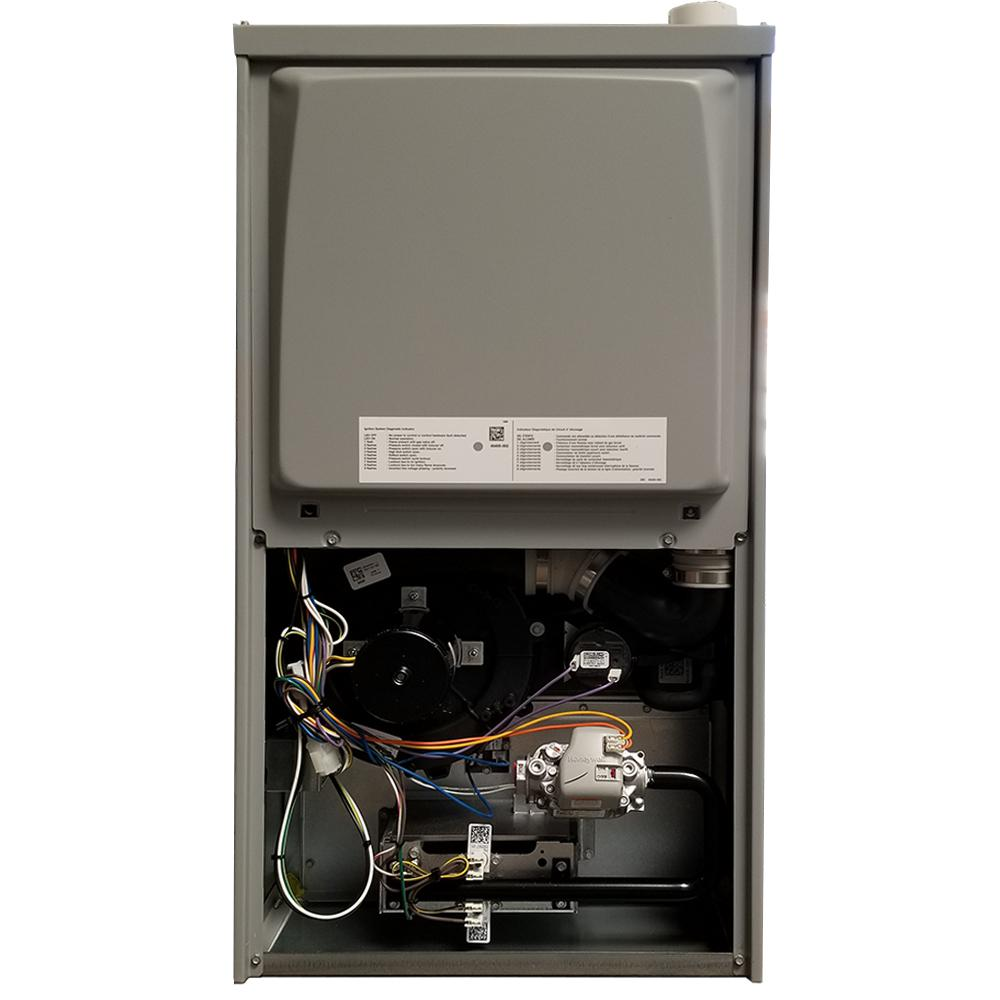 ROYALTON 88,000 BTU 95% AFUE 2 Stage Downflow forced Air Natural Gas Furnace with Variable Speed Motor