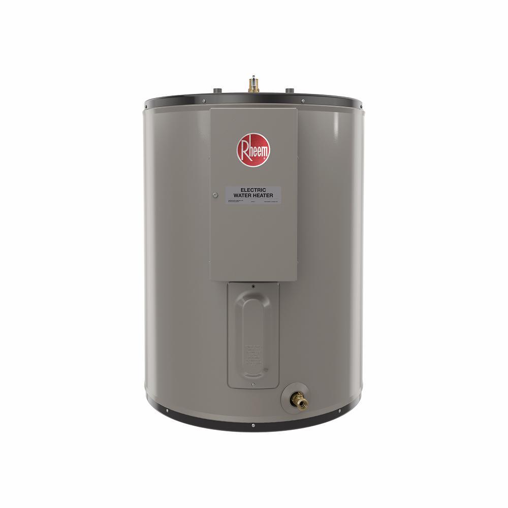 Rheem Commercial Light Duty 50 Gal Short 240 Volt 6 Kw Multi Phase Field Convertible Electric Tank Water Heater