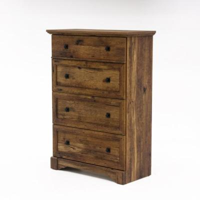 Palladia 4-Drawer Vintage Oak Chest of Drawers