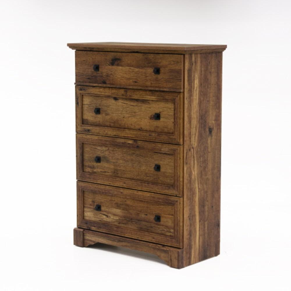 Palladia 4-Drawer Vintage Oak Chest