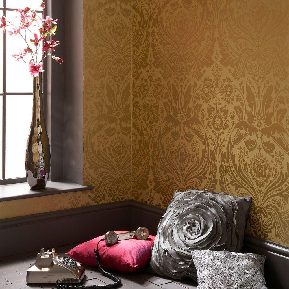 Desire Gold Wallpaper