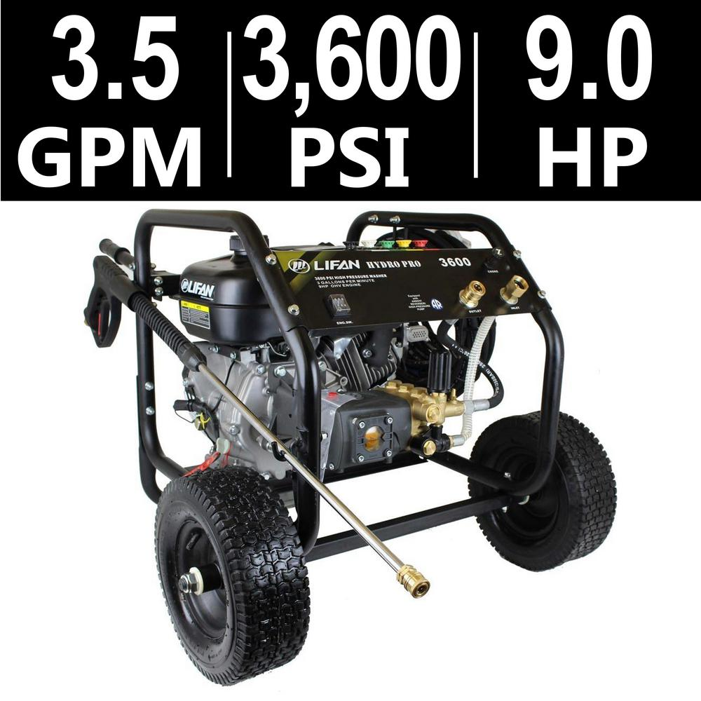 Simpson Powershot 3 800 Psi 3 5 Gpm Gas Pressure Washer