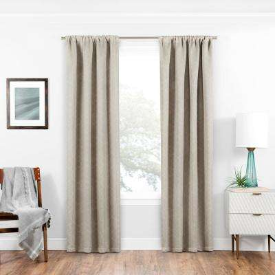 Blackout Isanti Rod Pocket Curtain