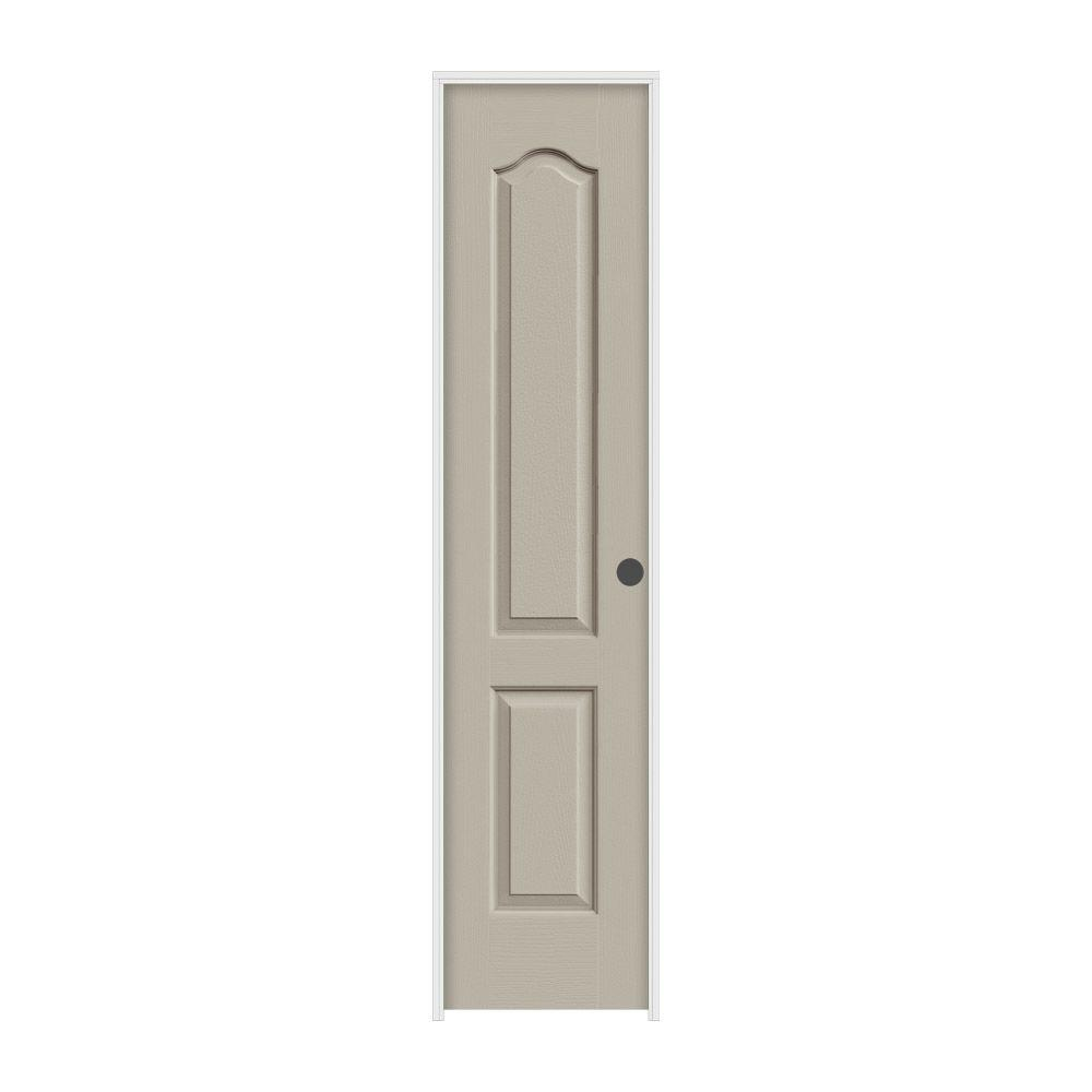18 in. x 80 in. Princeton Desert Sand Painted Left-Hand Smooth