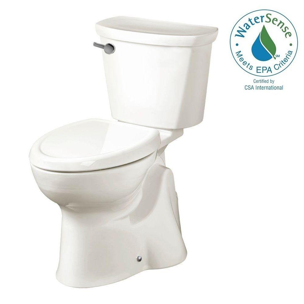 American Standard Accesspro Move Left 2-piece 1.28 GPF Elongated Toilet in White