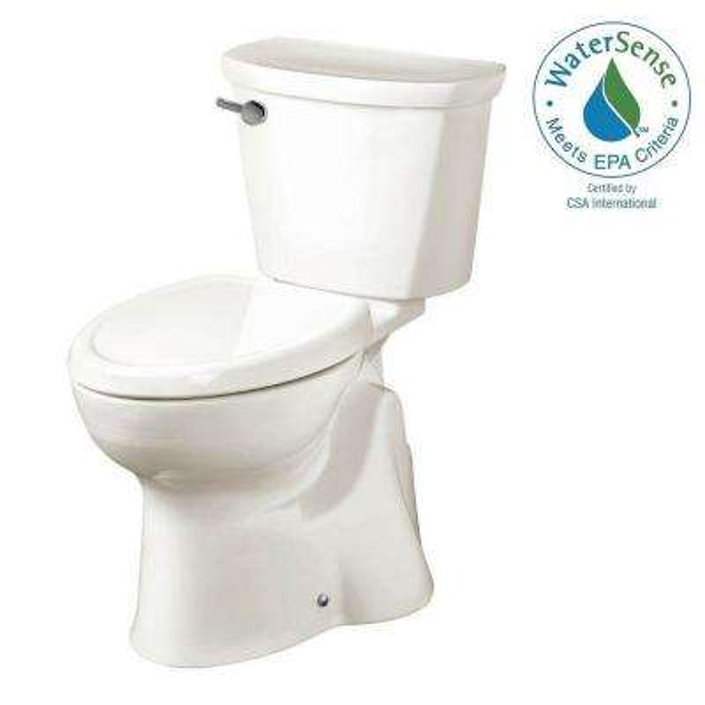 Accesspro Move Left 2-piece 1.28 GPF Single Flush Elongated Toilet in White