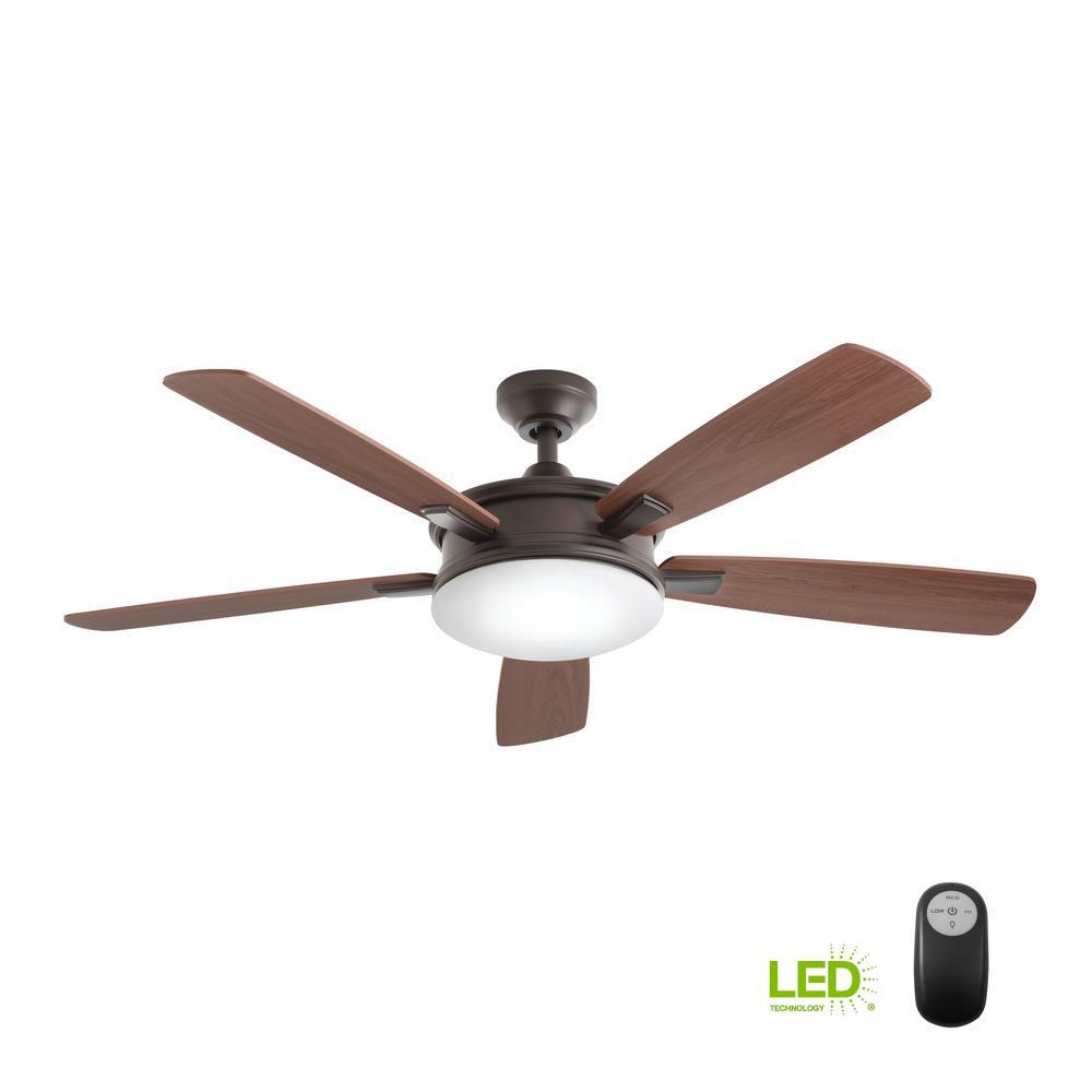 Home Decorators Collection Daylesford 52 in. LED Indoor Oiled Rubbed ...