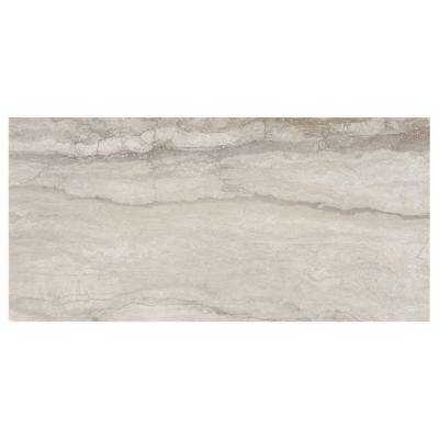 Vettuno Greige 12 in. x 24 in. Glazed Porcelain Floor and Wall Tile (15.6 sq. ft. / case)