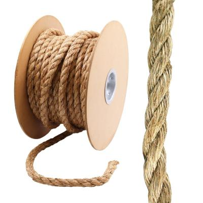 3/4 in. x 1 ft. Twisted Manila Rope