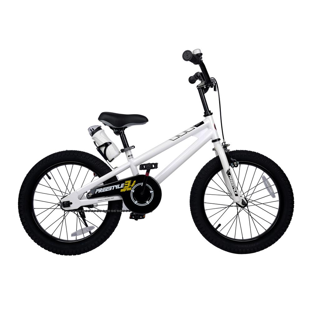 Royalbaby 18 in. Wheels Freestyle BMX Kid's Bike, Boy's Bikes and ... royalbaby bmx freestyle kid's bike 18