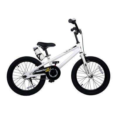 18 in. Wheels Freestyle BMX Kid's Bike, Boy's Bikes and Girl's Bikes in White