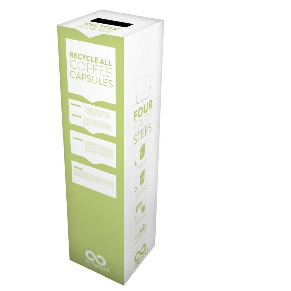18 Gal. Coffee Capsules Zero Waste Box Recycling Bin