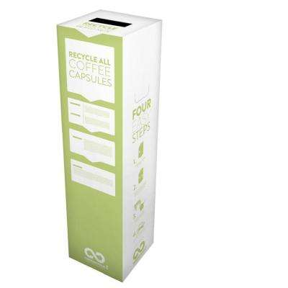 6 Gal. Coffee Capsules Zero Waste Box Recycling Bin