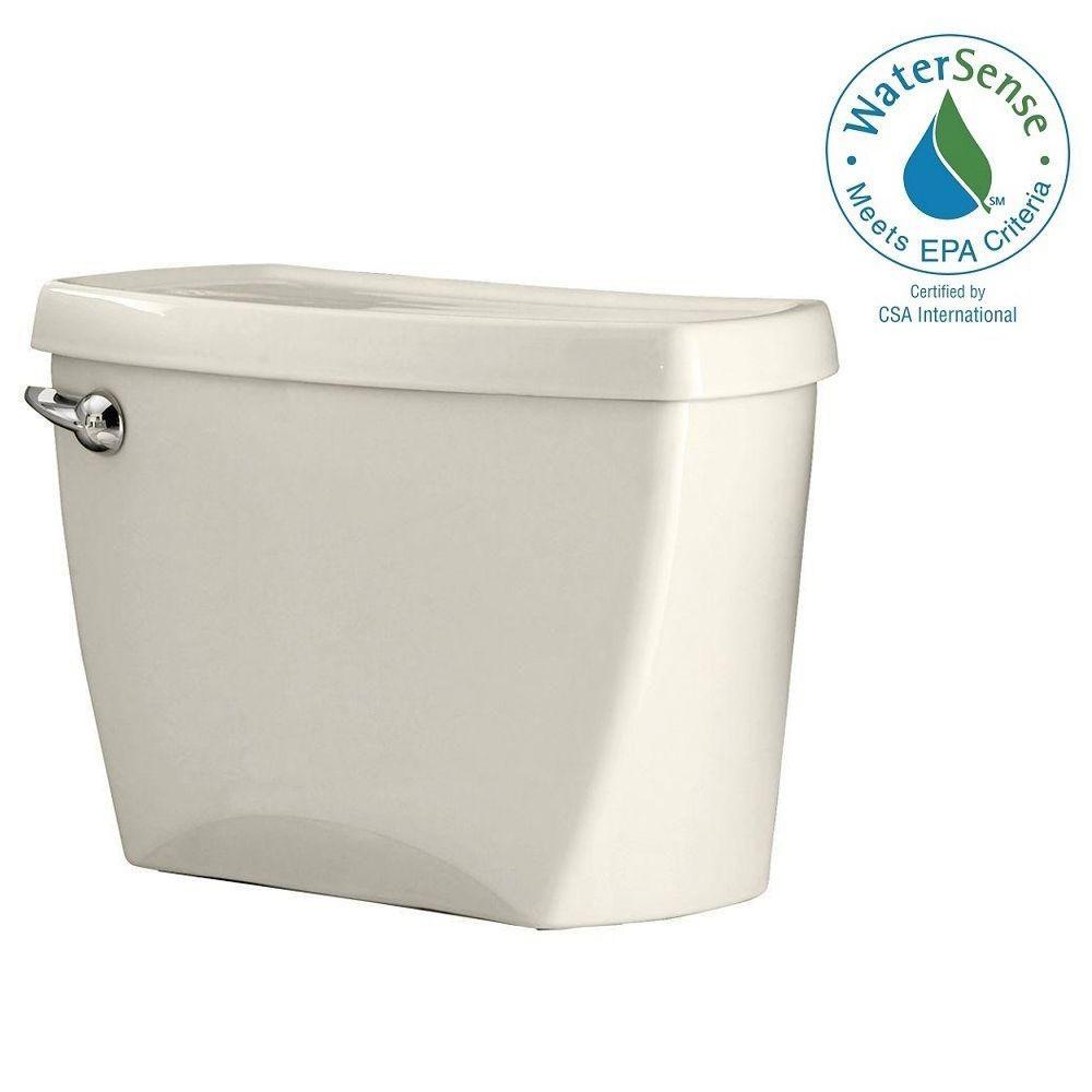 Champion 4 HET 1.28 GPF Single Flush Toilet Tank Only in Linen