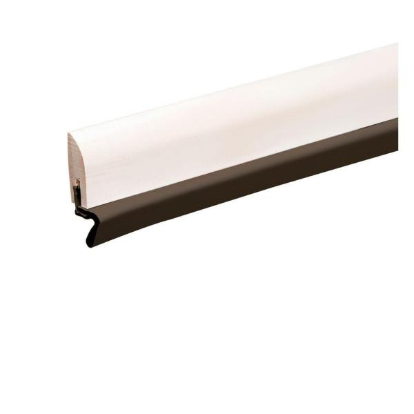 2 in. x 17 ft. Brown Primed Wood and Brown Thermo Plastic Door Set