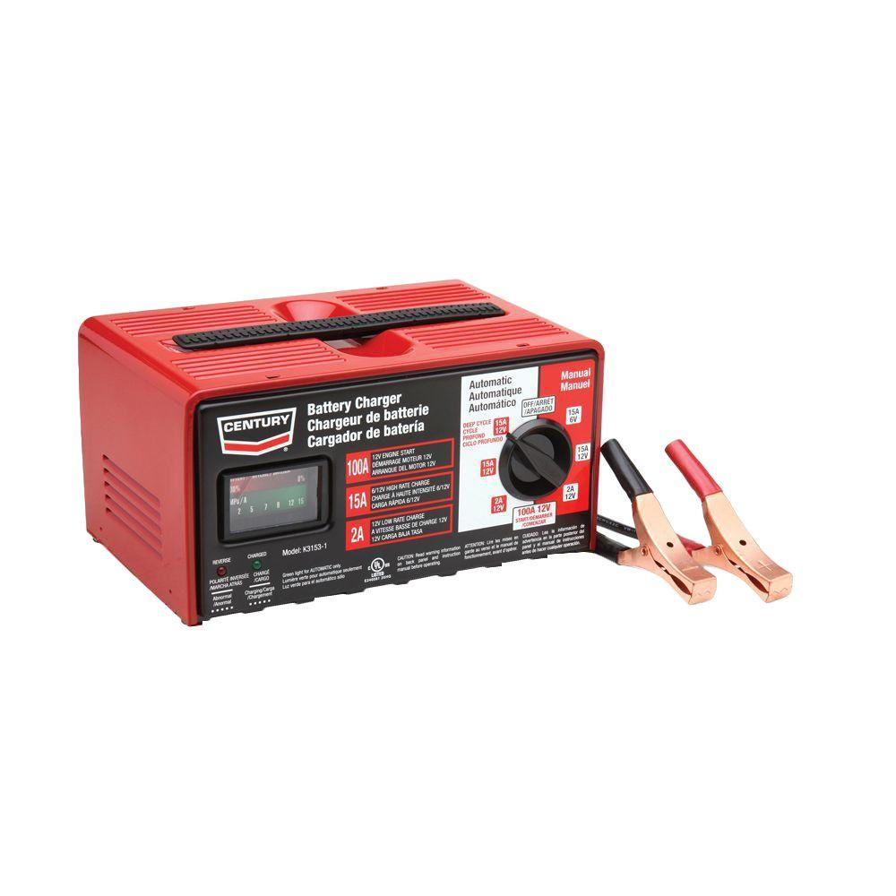 Schumacher 6 12 Volt 3 Amp Automatic Battery Charger And