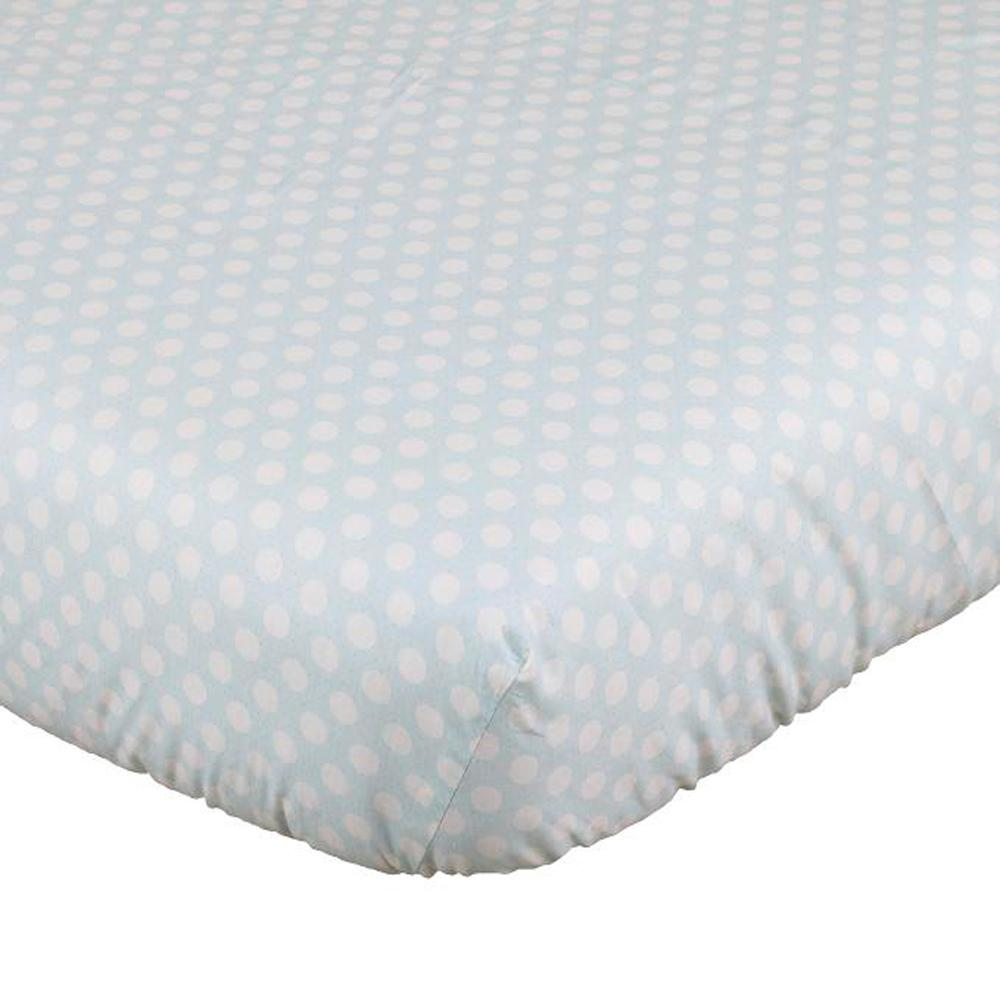 Lizzie Fitted Crib Sheet Lzst The Home Depot