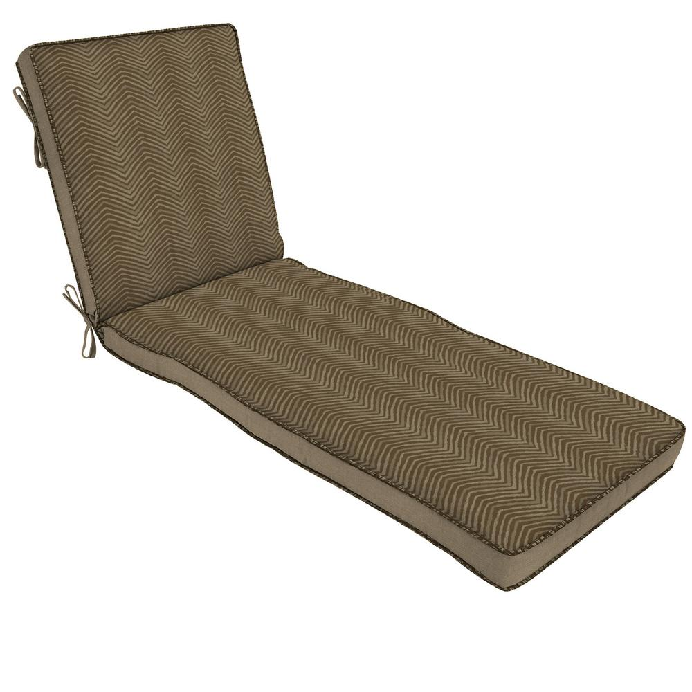 chaise lounge cushions outdoor cushions the home depot. Black Bedroom Furniture Sets. Home Design Ideas
