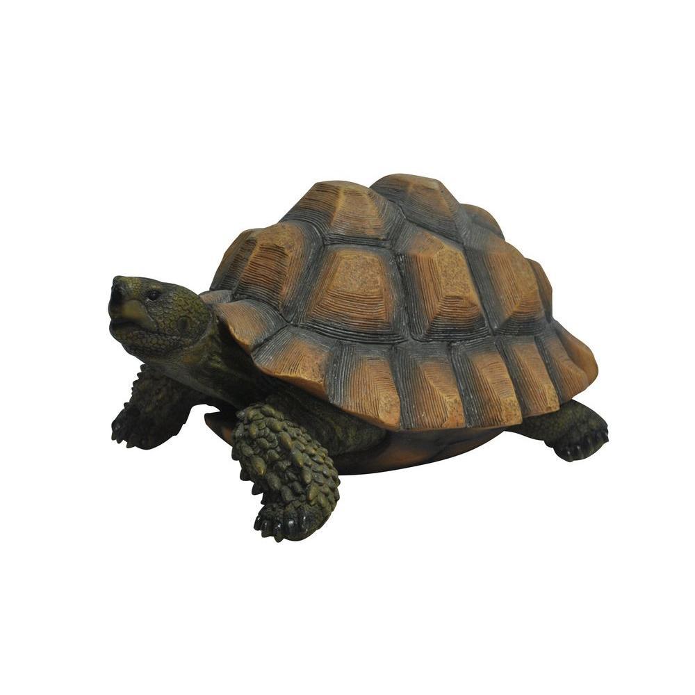 9 in. Turtle Garden Statue