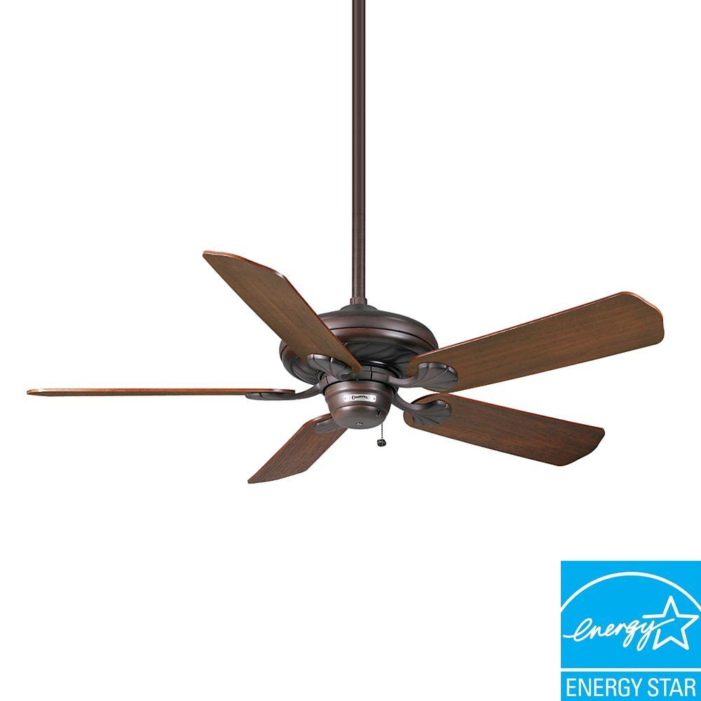 Casablanca Capistrano 53 in. Brushed Cocoa 3-Speed Ceiling Fan-DISCONTINUED