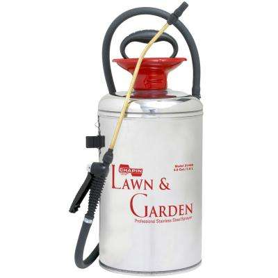 2 Gal. Lawn and Garden Series Stainless Steel Sprayer 31440
