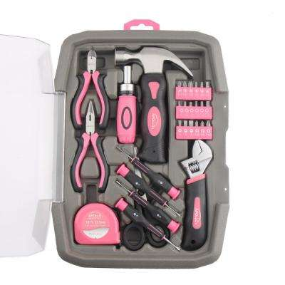 Precision Tool Kit Pink (29-Piece)