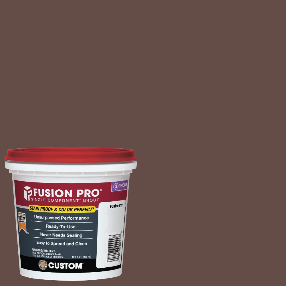 Fusion Pro #95 Sable Brown 1 qt. Single Component Grout