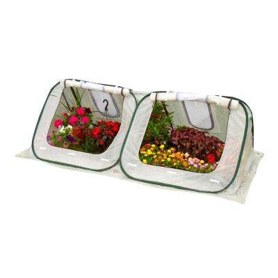 StarterHouse 3 ft. H x 8 ft. W x 4 ft. D Pop-Up Greenhouse