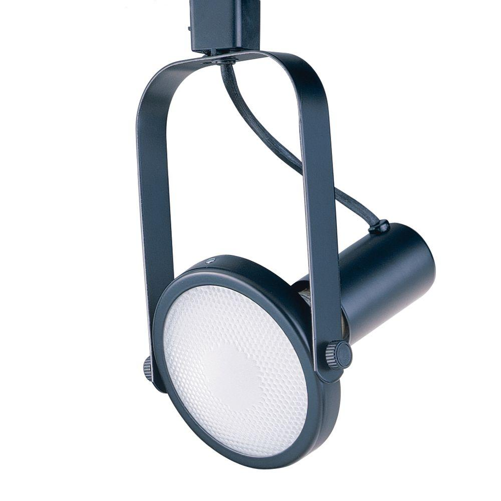 Par 38 Black Gimbal Ring Track Lighting Fixture