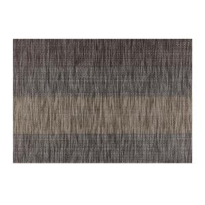 Kraftware EveryTable Tweed Stripe Brown Placemat (Set of 12) by Kraftware