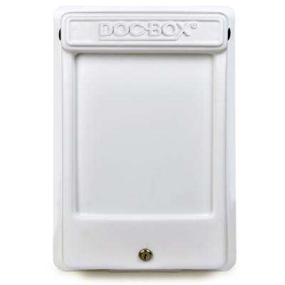 11.5 in. x 18.5 in. x 4 in. Outdoor/Indoor Smaller Posting Permit Box Unit with Lock