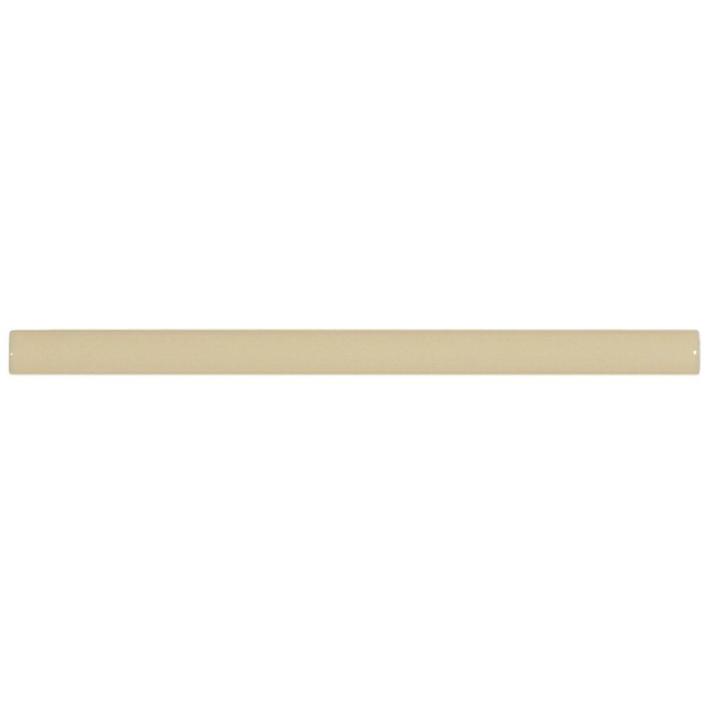 Merola Tile Plaqueta 3/8 in. x 5-7/8 in. Pergamon Ceramic Stick Trim Tile