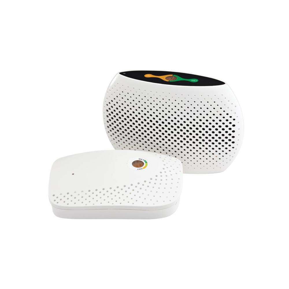 333 cu. ft. Medium Rechargeable Safe Dehumidifier 110-Volt White