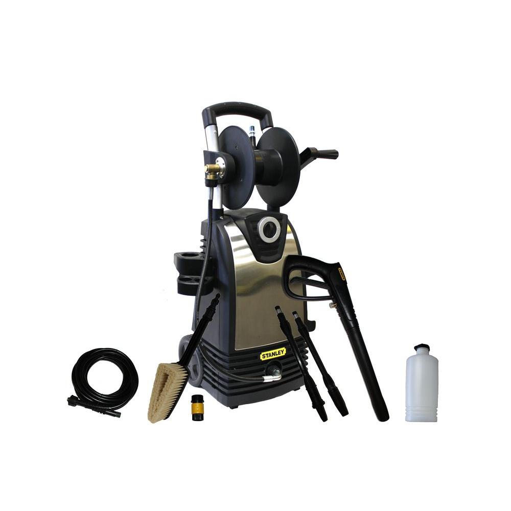 STANLEY 1800-PSI 1.4-GPM Electric Pressure Washer with Accessories Included