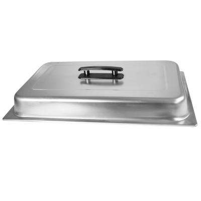 Stainless Steel Rectangular Full Size Dome/Chafer Cover