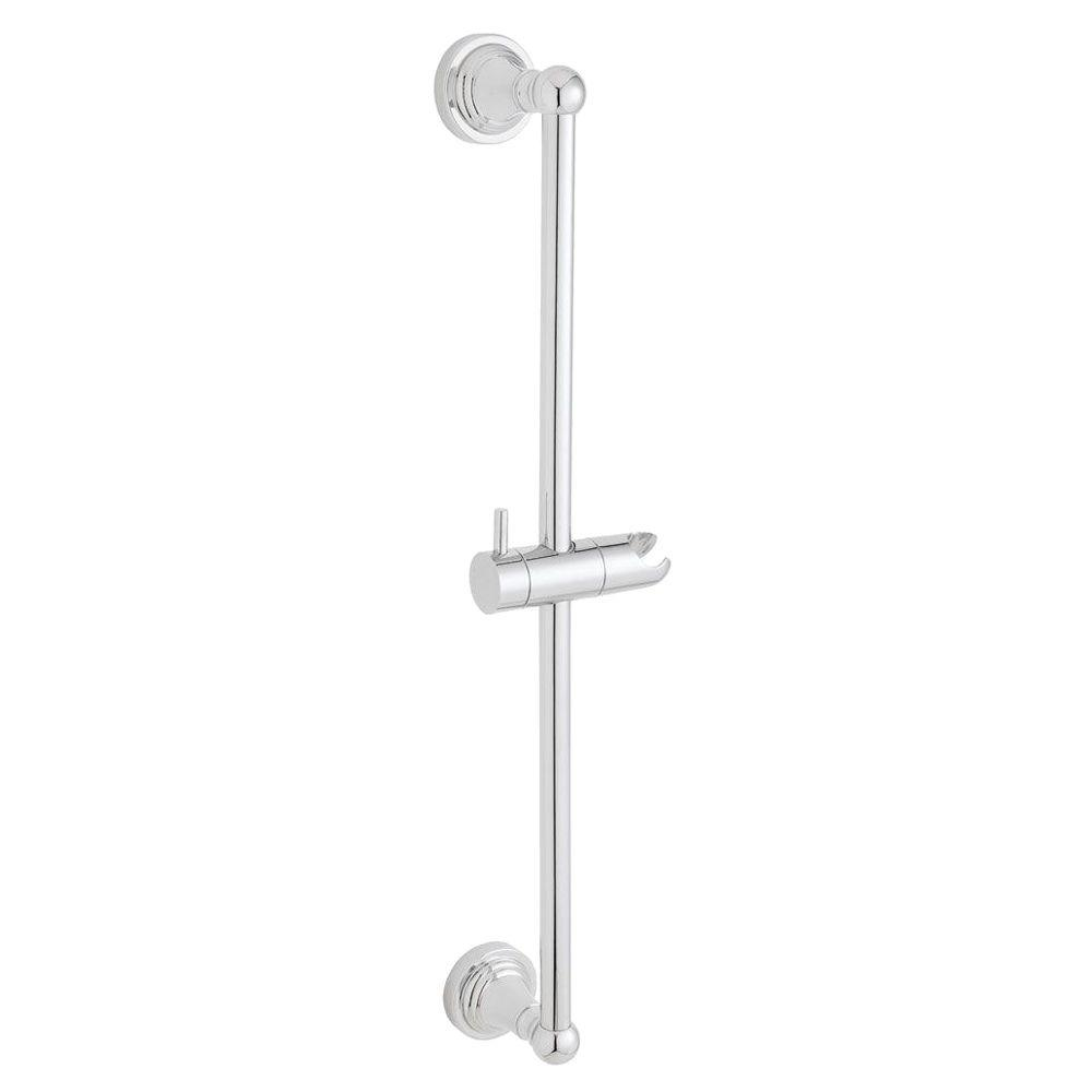 Alexandria 25-3/4 in. Shower Slide Bar in Polished Chrome