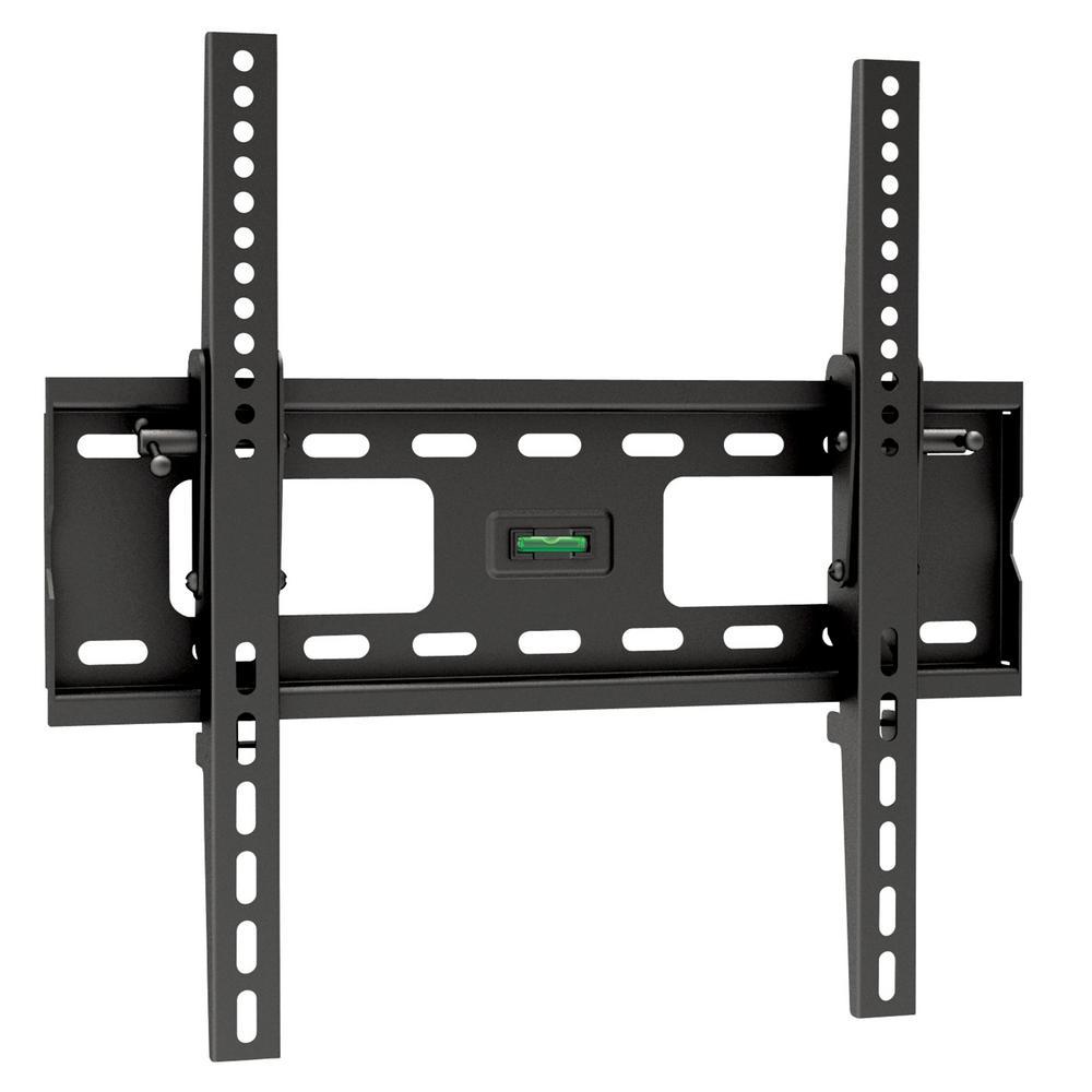 Pro-Mounts Fino Medium Tilt Universal Wall Mount for 10'' - 42'' Screens, Black