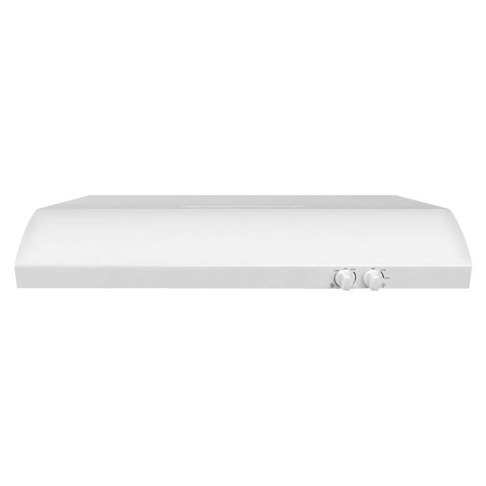Whirlpool 36 in. Convertible Range Hood in White