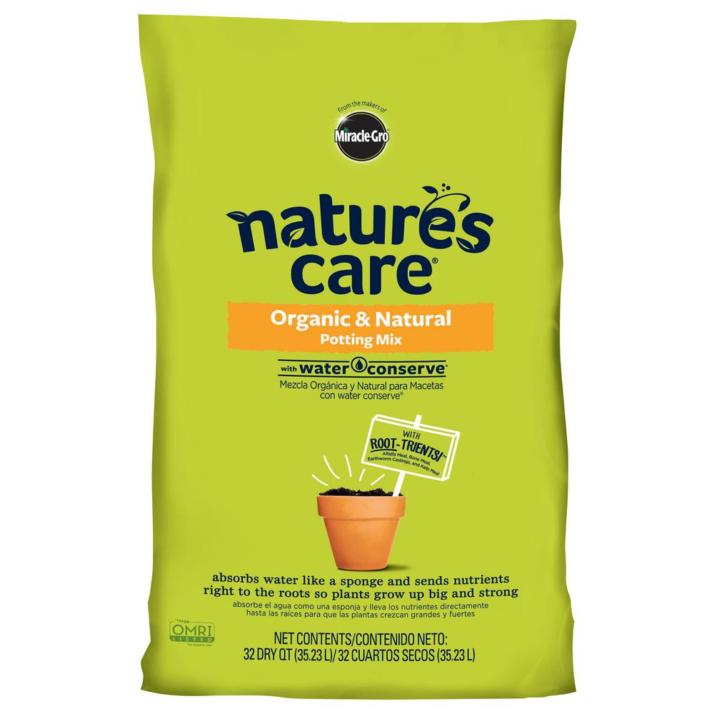Miracle-Gro Nature's Care 32 Qt. Organic Potting Mix