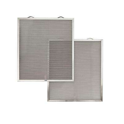 Open Mesh Aluminum Grease Filter (C1) (2 per Pack)
