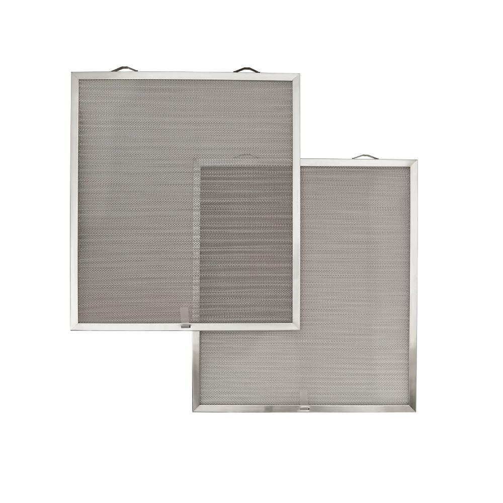 Open Mesh Aluminum Grease Filter (D1) (2 per Pack)