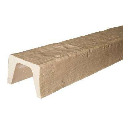7-7/8 in. x 5-7/8 in. x 13 ft. Unfinished Modern Faux Wood Beam