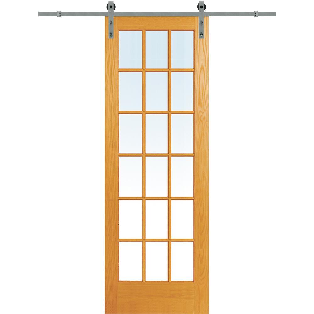 30 in. x 96 ...  sc 1 st  Home Depot & 96 - Barn Doors - Interior u0026 Closet Doors - The Home Depot