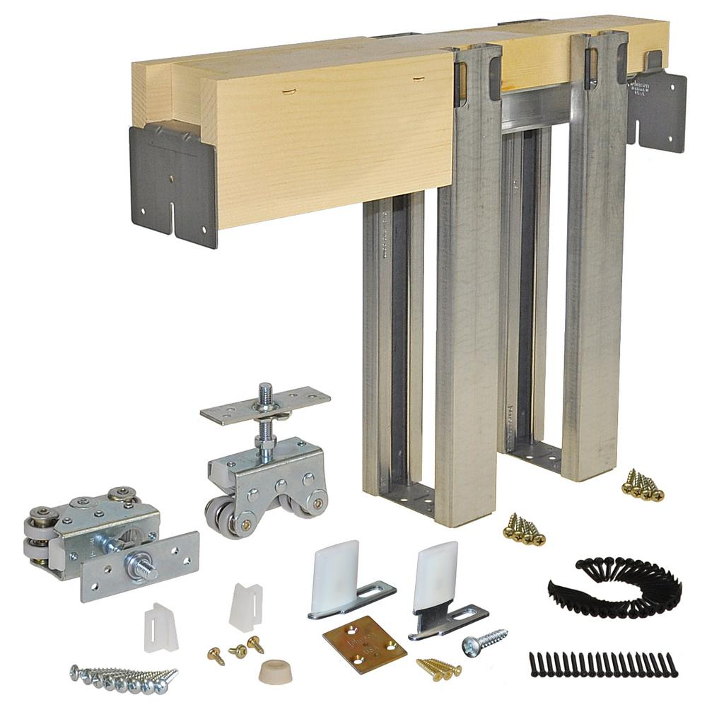 Johnson Hardware 2000 Series 36 In. X 80 In. Pocket Door Frame For 2x4